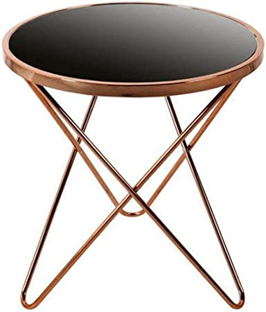 K-Y Table Basse Table d\'Appoint Petite Table Ronde Salon ...