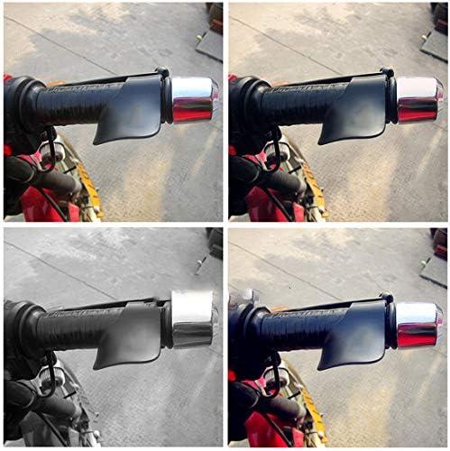 CS-073A1 Moto pince papillon ravitaillement en carburant aide acc/él/érateur papillon pince Cruise Aid poign/ées de contr/ôle Noir