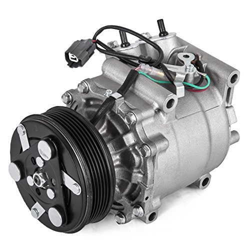 Mophorn Universal Air Conditioner AC Compressor for 2001 Honda Civic 1.7L 97-01 Prelude 2.2L 38810P5M006
