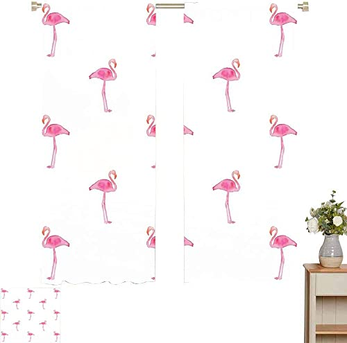 Flamingo Blackout Curtain