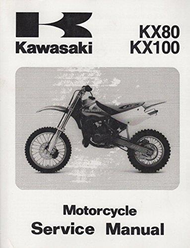 1991 1992 1993 1994 1995 1996 and 1997 Kawasaki KX80 and KX100 Motorcycle Shop Repair Workshop Service Manual, Part Number 99924-1144-04 (Custom Motorcycle Wiring)