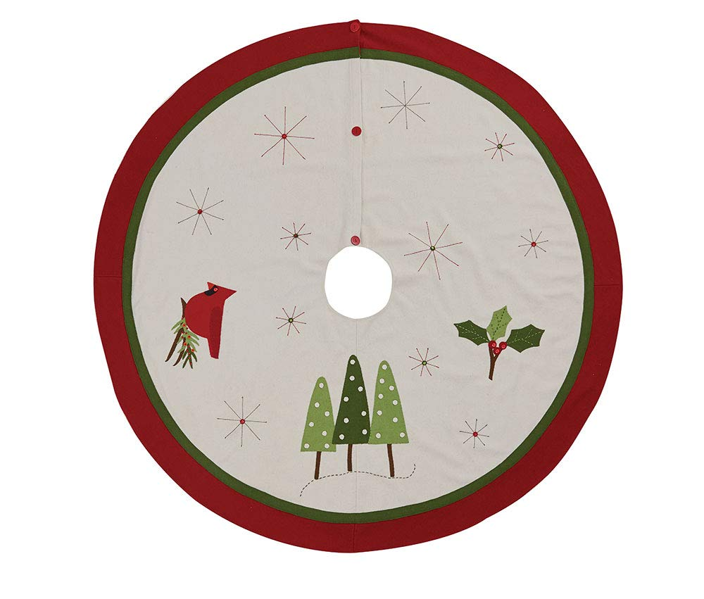 Park Designs Christmas Greenery Felt Tree Skirt Scout Limited Inc. 877-56