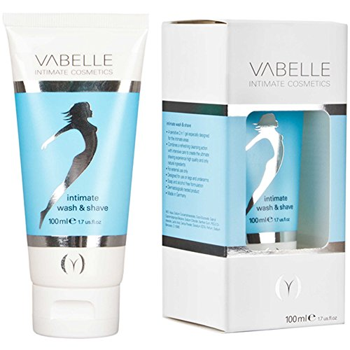 vabelle intimate wash and shave, 1er Pack (1 x 100 ml)