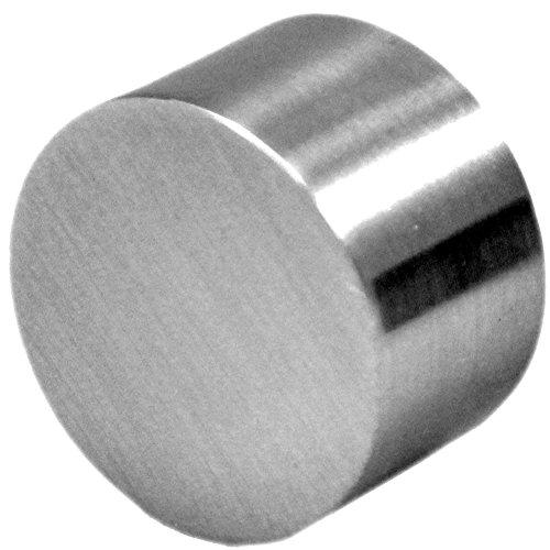 Iron designs quot metal rod end cap nickel buy online in