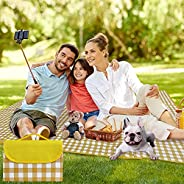 BULYZER Picnic Blanket mats Waterproof and Foldable-Extra-Large Cushions for Beach and Outdoor use, Thick and