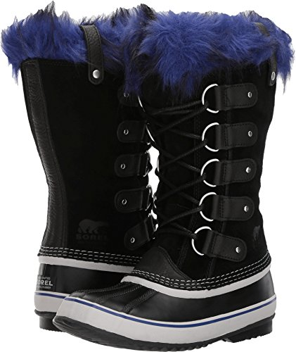 SOREL Joan Of Arctic Boot - Black/Aviation - Womens - 8.5 by SOREL