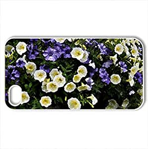 mixed blooms - Case Cover for iPhone 4 and 4s (Flowers Series, Watercolor style, White) by icecream design
