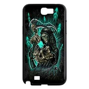 Santa Muerte - Grim Reaper Pattern Productive Hard Phone Case For Samsung Galaxy Note 2 Case -Pattern-8