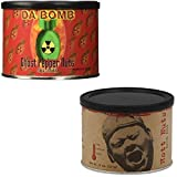 Spicy Nuts Gift Bundle: DaBomb Ghost Pepper Peanuts and Pain Is Good Batch #218 Hott Nuts