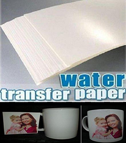 30 Sheets A4 Inkjet Water Slide Decal Paper Craft (transparent)