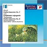 Image of Bruch, Vieuxtemps: Violin Concertos / Lalo: Symphonie Espagnole