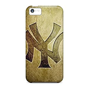 Protection Case For Iphone 5c / Case Cover For Iphone(new York Yankees Logo Hd)