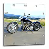 3dRose dpp_ 4842_3 Harley-Davidson Motorcycle Picture Wall Clock Review