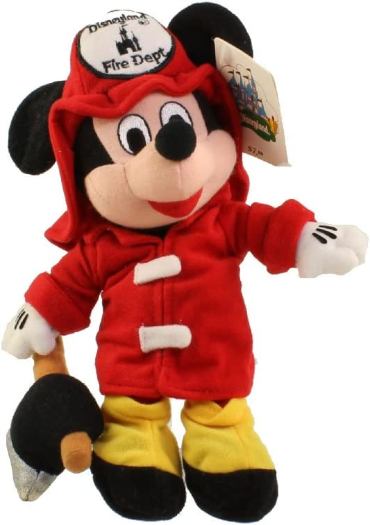 B005LFQSWI Disney Mickey Mouse 8 Plush Fireman Bean Bag Doll 51NIAGCUS0L.SL1000_