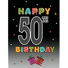 Caroline's Treasures CJ1124GF Happy 50Th Birthday Flag, Small, Multicolor