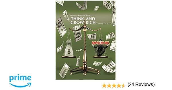 Think and Grow Rich Original Unabridged Edition 12 CD Set