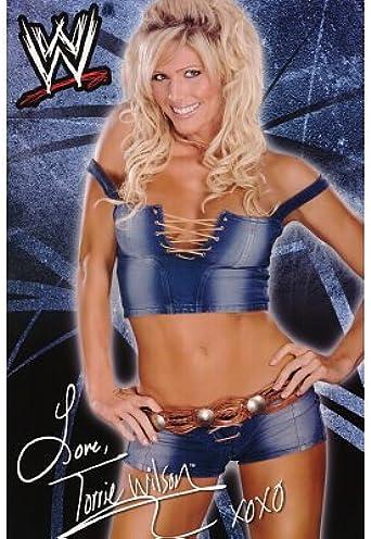 24x36 Torrie Wilson Diva Denim Sports Poster Print