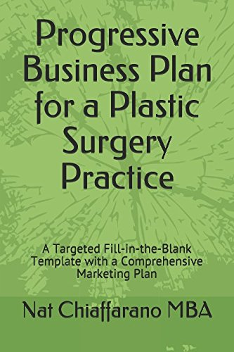 Progressive Business Plan for a Plastic Surgery Practice: A Targeted Fill-in-the-Blank Template with a Comprehensive Marketing Plan