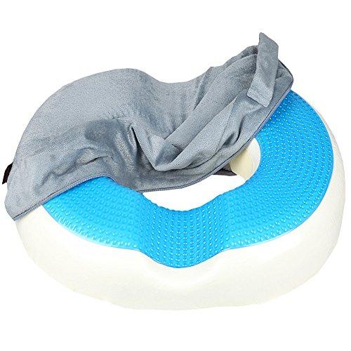Donut Cushion Pillow Zzcp Cool Gel Memory Foam Coccyx