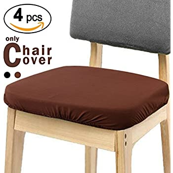 Amazon Com Flax Linen Chair Seat Cover With Ruffle In