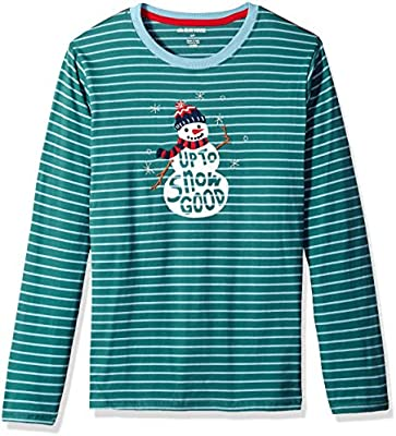 Little Blue House by Hatley Mens Long Sleeve Pajama Tee