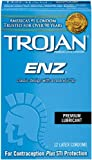 Trojan Condom ENZ Lubricated, 12 Count, Health Care Stuffs