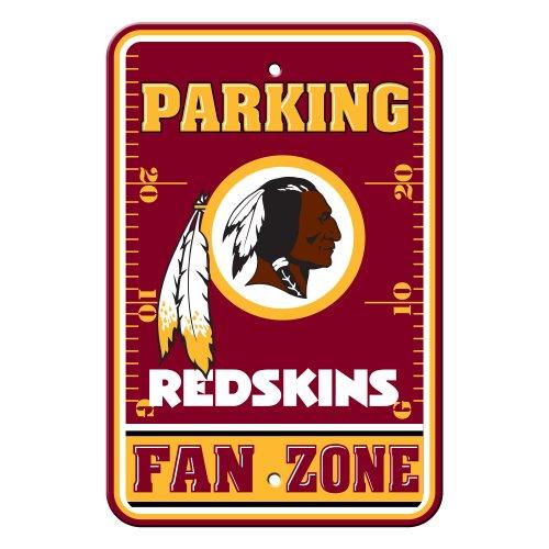 NFL Washington Redskins Plastic Parking (Washington Redskins Parking Sign)