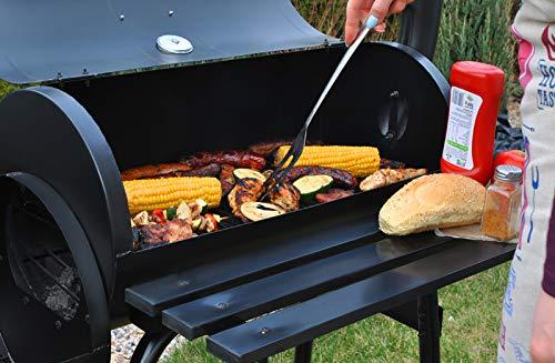 MALATEC Barbecue Portatile a Carbonella Griglia a Carbone Fumatore 5165