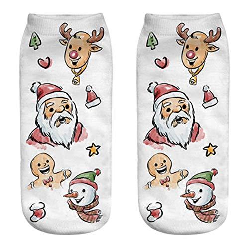 HEHEM Christmas Socks Cute Socks Christmas Breathable Warm Socks...