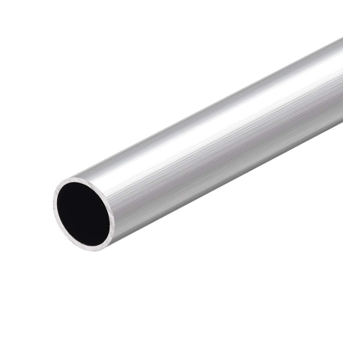 Round Aluminum Tube 6063 300 mm Length 20 mm OD 18 mm Internal Diameter Seamless Straight Aluminum Tube