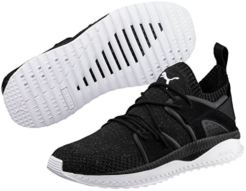 Puma Mens Tsugi Blaze Evoknit Sneaker Puma Zwart-asfalt-puma Wit