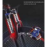 AISHFP-Morbida-Coda-Folding-Mountain-Bike-Doppio-Freno-a-Disco-in-AcciaioHigh-Carbonio-Telaio-Bici-off-Road-Beach-motoslitta-Biciclette-26-Pollici-Ruote