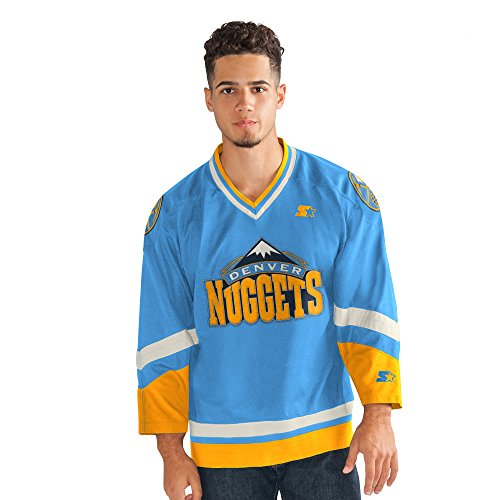 (Starter Adult Men Legend Hockey Jersey, Blue, Medium)