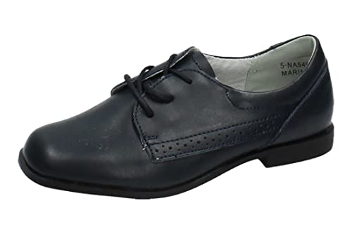 85c1bb320 BONINO 5-NA549A-12 Zapatos DE Ceremonia NIÑO Zapato COMUNIÓN Marino 33   Amazon.es  Zapatos y complementos