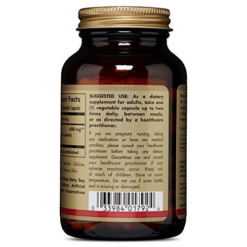 Solgar – NAC 600 mg, 120 Vegetable Capsules by Solgar (Image #2)