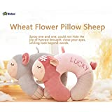 Metoo Premium body Neck Travel Pillow-Ergonomic Support Cervical Pillow-Cute Stuffed Sheep Toy - Comfort Pure Cotton Material Animal Puppets - The Great Plush Sheep Gifts for Lover-Gray