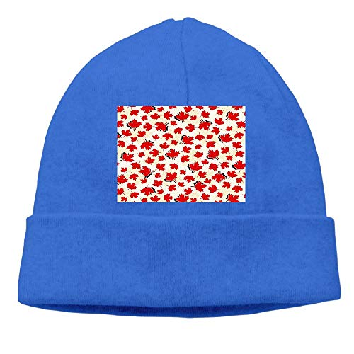 CHAN03 Canada Maple Leaf Beanies Hats Unisex Winter Sports Caps (Canada Playsets)