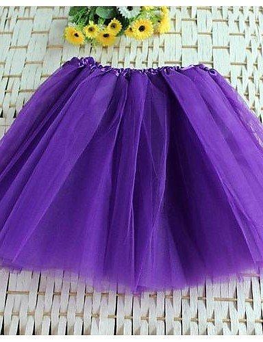 ZLL Mujer Faldas Tiro Alto Mini Poliéster / Nailon Eslático Verano ...