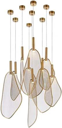 Nordic Chandelier Personality Modern Minimalist Light Luxury Warm Living Room Bedroom Chandelier (Color : Chandelier)