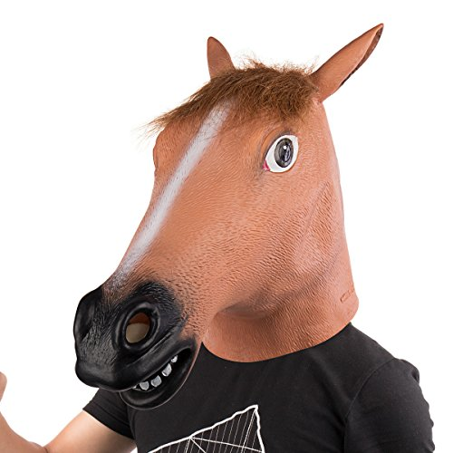 Make A Horse Head Costume (Horse Head Mask Halloween Party Cosplay Mask Costume)