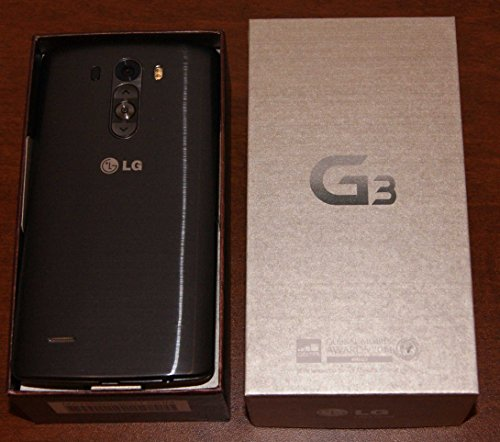 LG G3 D851 4G LTE, 32GB, (GSM Unlockedx200E;) Smartphone, Metallic Black