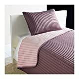 IKEA KARIT TWIN / FULL Bedspread (Quilt) and cushion cover set Lilac