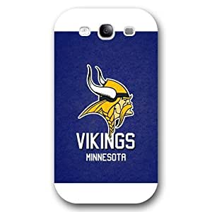 Customized NFL Series For SamSung Note 4 Case Cover NFL Team Minnesota Vikings Logo For SamSung Note 4 Case Cover Only Fit for For SamSung Note 4 Case Cover (White Frosted Shell)