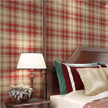 HUANGYAHUI Moderne Amerikanische Reinen Papier Tapeten, Schlafzimmer ...