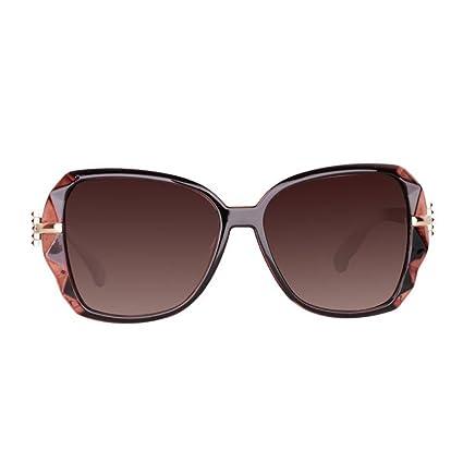 KAI LE Gafas de Sol Polarizadas Tide Star El Mismo Párrafo Gafas de Sol Gran Marco
