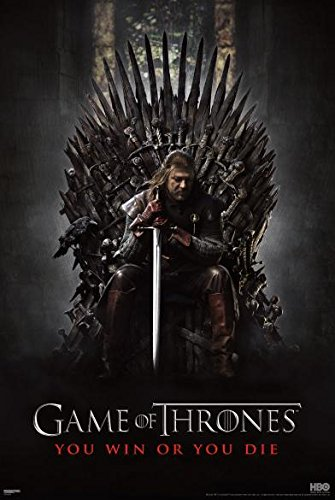 Pyramid America Game of Thrones You Win or You Die TV Poster