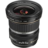 Canon EF-S 10-22mm f/3.5-4.5 USM SLR Lens for EOS Digital SLRs International Version (No warranty)