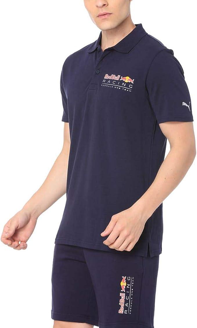 PUMA - Polo Red Bull Racing - 180222 575267 01 - Azul, M: Amazon ...