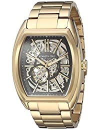 Kenneth Cole New York Men's 10030813 Automatic Analog Display Automatic Self Wind Gold Watch