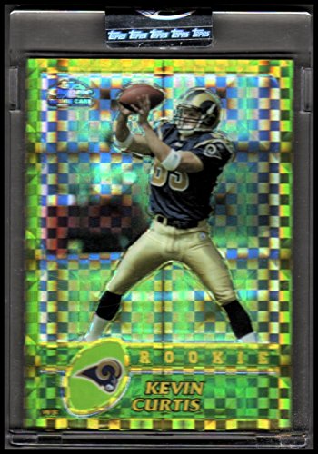 2003 Topps Chrome Gold Xfractors #239 Kevin Curtis RAMS Rookie 003/101 - -